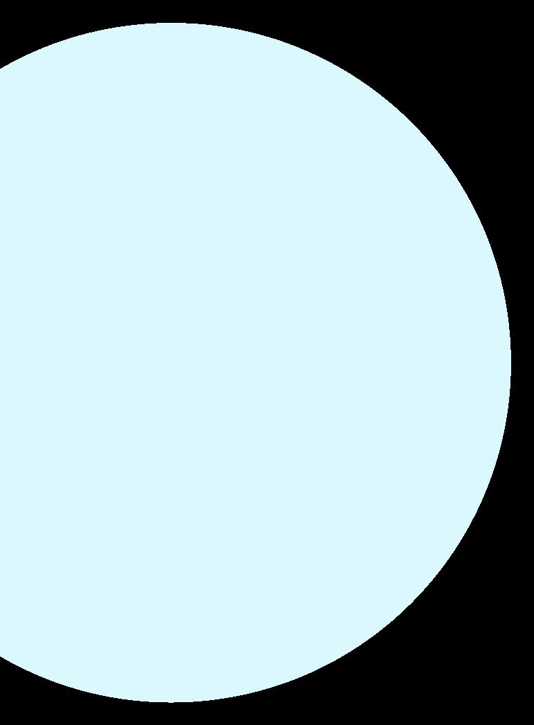 Cercle bleu clair
