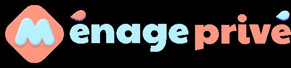 Logo Ménage Privé bleu clair et corail